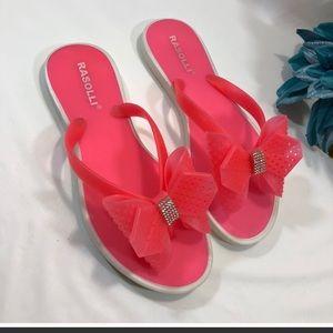 Rasolli size 8 coral pink